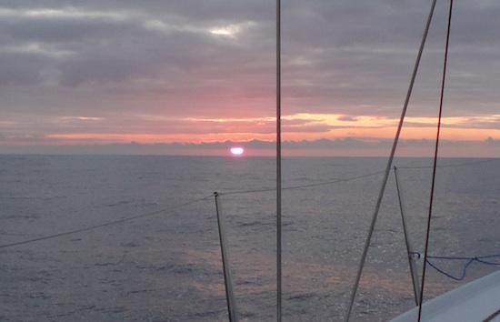 An earlier sunset....